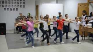 Сучасний танок 4 класу Доманівського РНВК №1