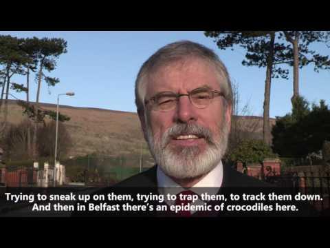 Bite back on Election day. Vótáil Sinn Féin - Gerry Adams