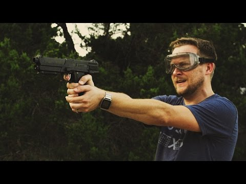 Testing a Semi-Automatic Pepper Spray Gun