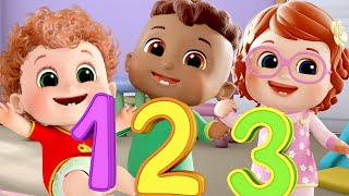numbers song 1-10 | you can do it  + more nursery rhymes & kids songs - Blue Fish 4K videos