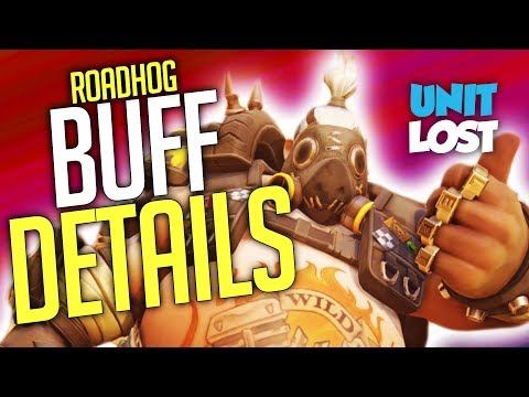 Overwatch News - Roadhog BUFF DETAILS! 50% Damage Reduction!