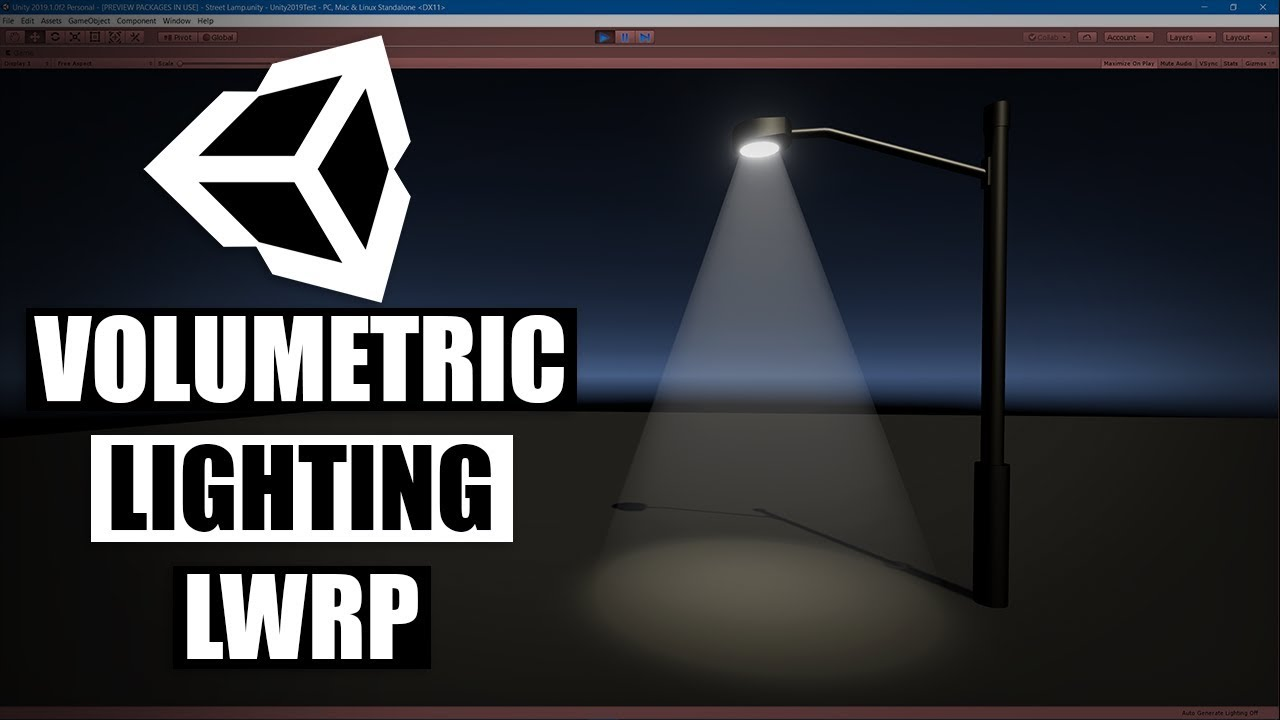 Unity Volumetric Light Shader Graph LWRP