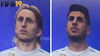 FIFA 19 +40 NEW FACES | FT. MODRIC, ASENSIO, CEBALLOS...etc