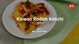 Kimjang Project: Korean Radish Kimchi