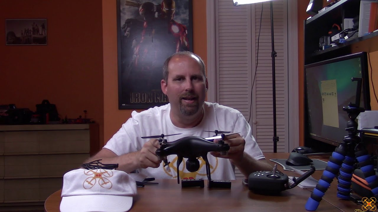 Snaptain SP600 720p WIFI FPV Drone Review фото