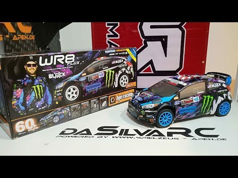 Unboxing 2.0: HPI WR8 Ken Block Fluxx [deutsch/ german]