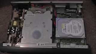 A look inside my broken Sony RDR-HXD870 DVD Recorder With 160GB Hard Drive freeview PVR