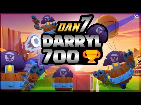 🔥Pro Darryl 700 Sr Trash En BrawlBall🔥