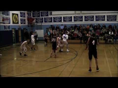 Reese Swedberg 2018 Basketball Highlights at Moultonborough Academy