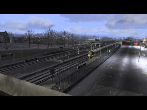 Train Simulator 2013 Class 375 British Rail 1 Parte