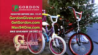 Gordon Gives 94 Bikes for Christmas | Max 94 One | Gordon McKernan