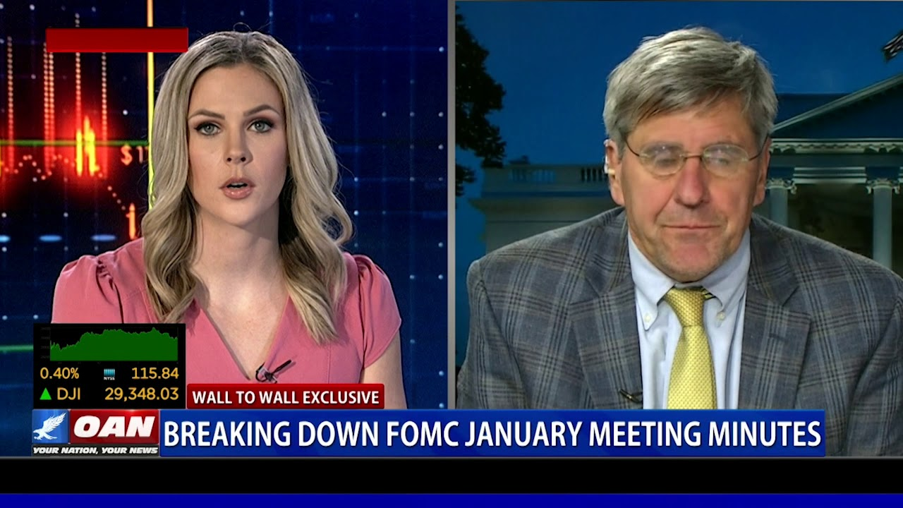 Wall to Wall: Greta discusses Federal Reserve minutes with Stephen Moore - OAN