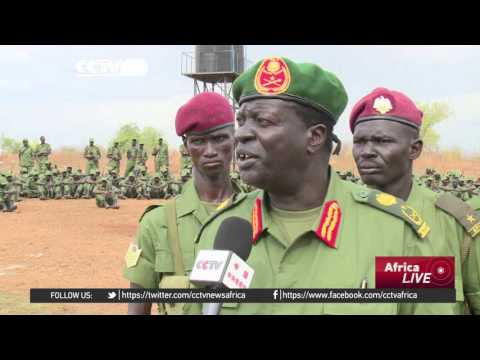 South Sudanese rebel soldiers arrive in Juba