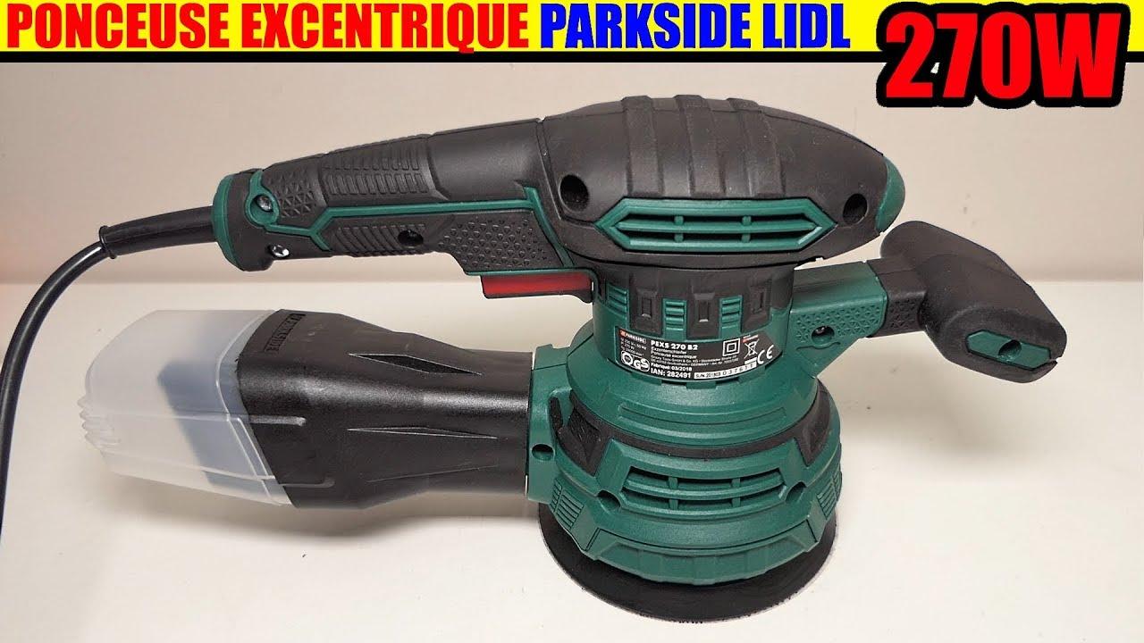 Parkside Ponceuse Excentrique Pexs 270 B2 Lidl Random