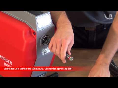 ROTHENBERGER R600 Drain cleaning machine / Rohrreinigungsmaschine