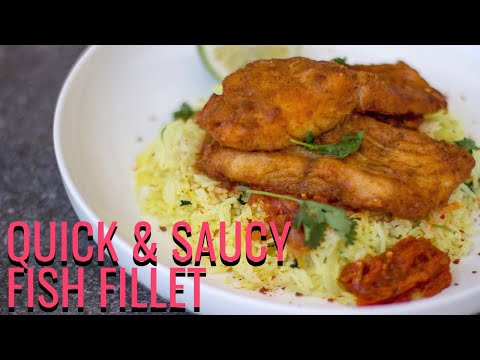 Easy Saucy Thyme Pan Fried Fish Fillet