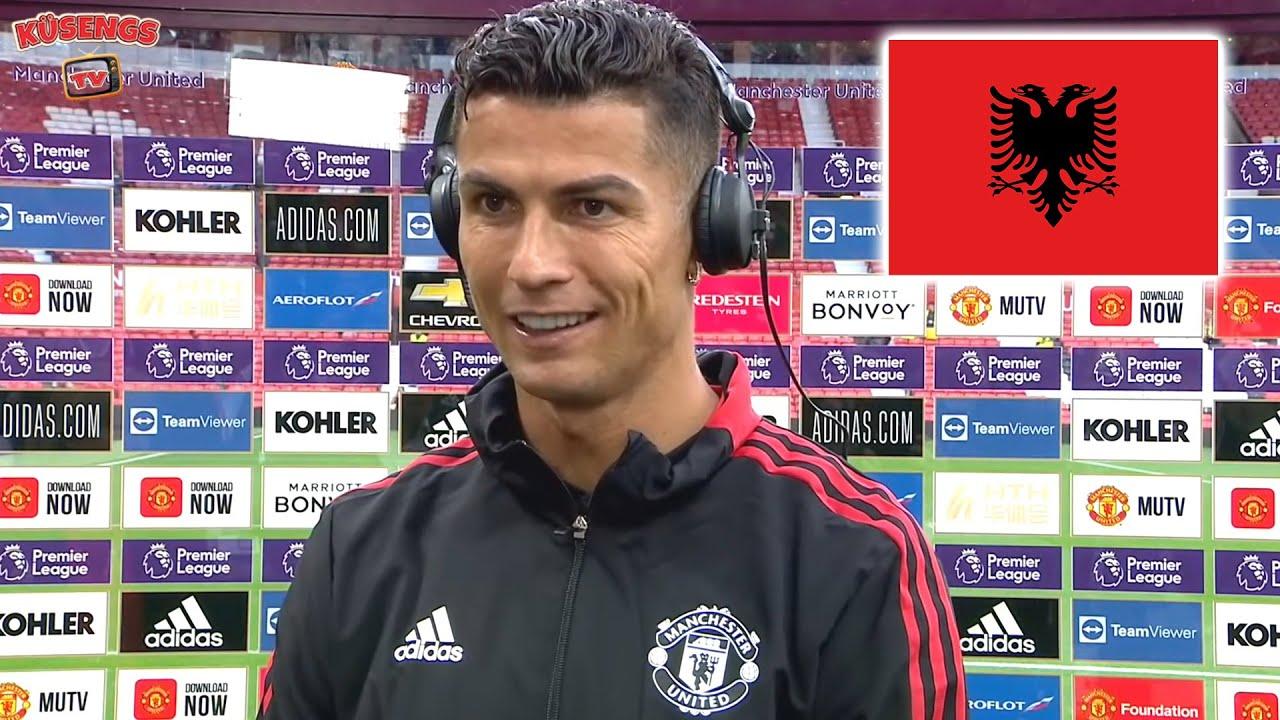 Ronaldo nach seinem ersten Spiel für Manchester United! 😂🇦🇱 Das Comeback nach 11 Jahren!