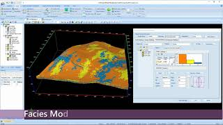 GES Software - One Button 3D Stochastic Geological Modeling