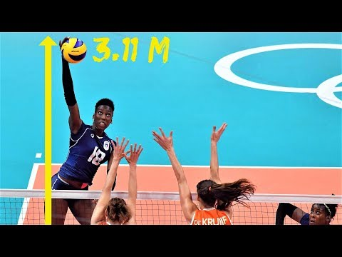 TOP 10 Powerful SPIKE by PAOLA EGONU (SPIKE HEIGHT 3.11m) | Women's Volleyball