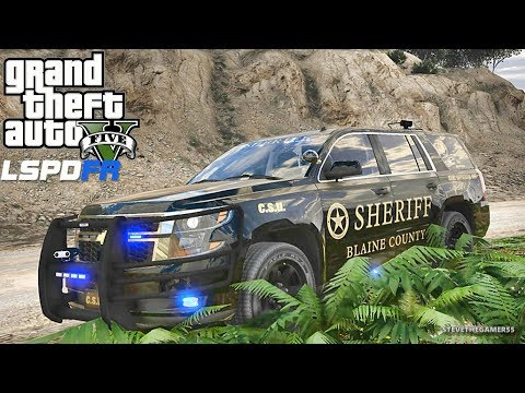 GTA 5 MOD LSPDFR 681 - SLICKTOP TAHOE !! (GTA 5 REAL LIFE PC