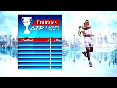 Emirates ATP Race To London Update 16 October 2017