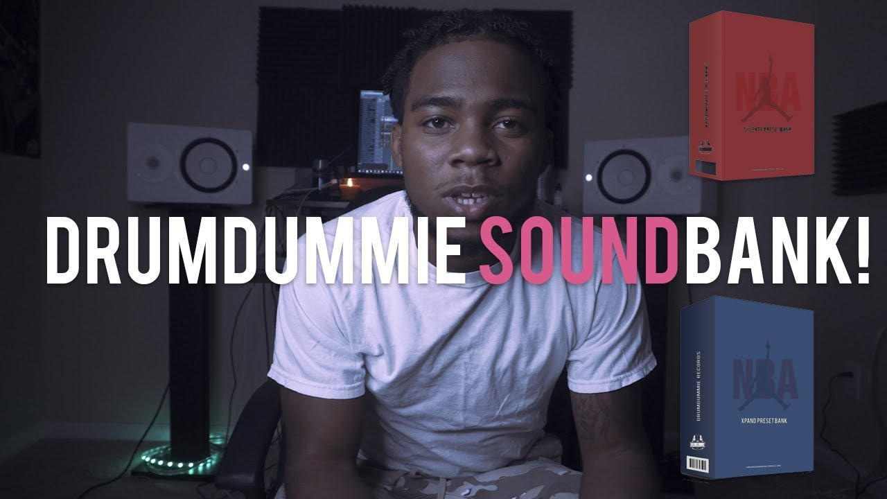 Drumdummie Announces New Content + NBA Soundkits Out Now!! (Link in  description)