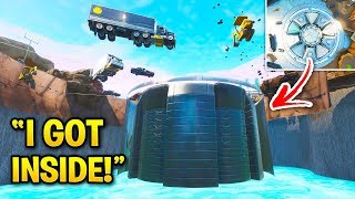 I Got INSIDE the LOOT LAKE BUNKER! (8 Fortnite Glitches & Secrets)