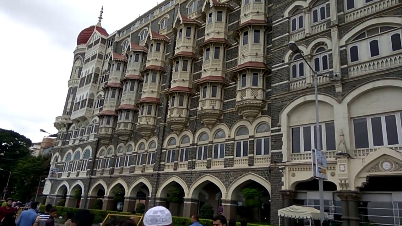 Gateway Of India Hotel Oberoi Taj Hotel Mumbai Youtube