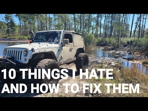 10 things I hate about my Jeep JK (and how to fix them)