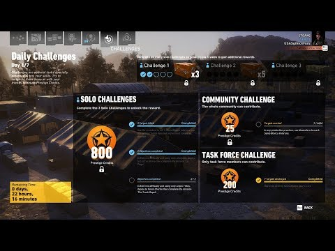 Ghost Recon Wildlands Daily Challenges Week 25 Day 1 Solo Challenge 2 La Plaga Shotguns Only |