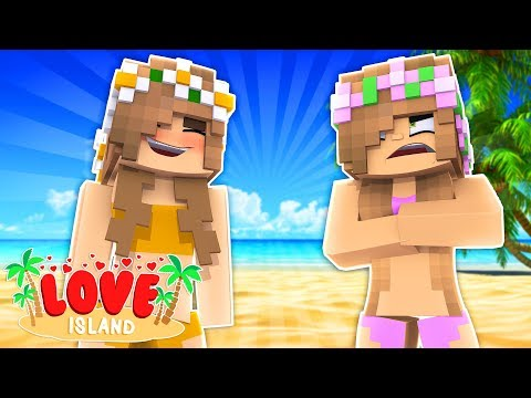 PSYCHO CRAZY NEW GIRL JOINS THE ISLAND! Minecraft Love Island | Little Kelly