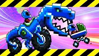 Самые необычные машины! Мульт игра для детей Битва тачек Drive AHEAD - 6