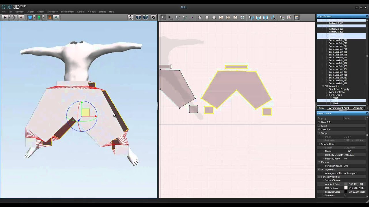 Clo3d tutorial (using your character from 3ds max)