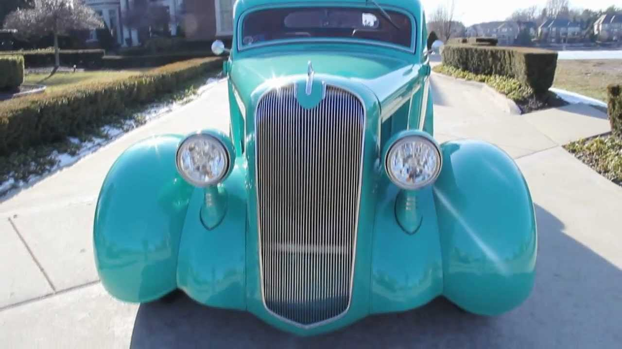 1936 Plymouth Coupe Street Rod Classic Muscle Car for Sale in MI ...