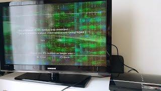 TEST konsoli PS3 -  istny MATRIX problem z wyświetlaniem obrazu