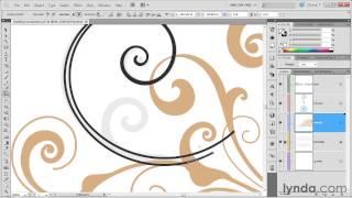 057 Drawing trendy swirls in Illustrator