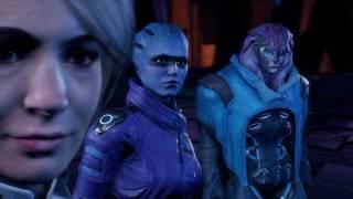 Mass Effect:Andromeda Концовка. Активация Меридиана,сцена после титров и эпилог