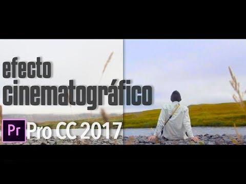 Efecto Cinematográfico | Tutorial Adobe Premiere Pro CC 2017