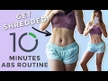 10 Mins Abs Workout - Best Abs Exercises for Ripped Obliques