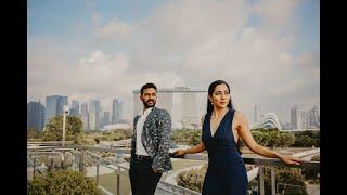Jaga & Nikhita Singapore Pre Wedding Tale