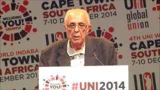 Ahmed Kathrada illuminates UNI World Congress