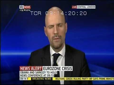 Petros Fassoulas (European Movement) on Skynews (03.11.11) - Part 1