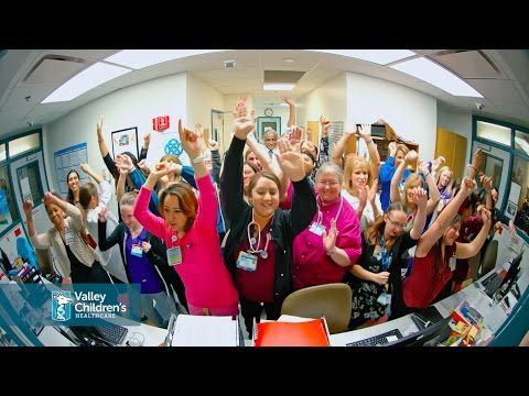 "Valley Children's Healthcare - ""Can't Stop the Feeling"" by Justin Timberlake"