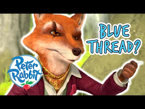 #Summer ☀️ @Peter Rabbit - Hunting the Blue Thread   Cartoons for Kids
