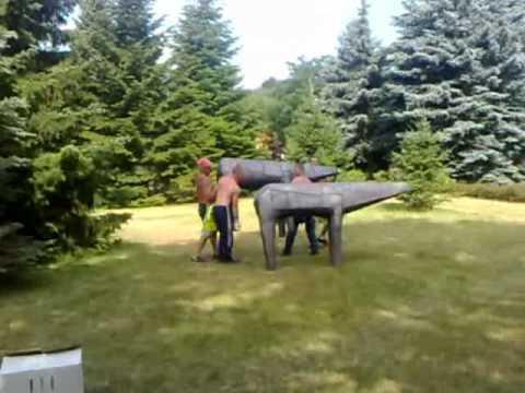Rzeźby Abakanowicz w Świnoujściu