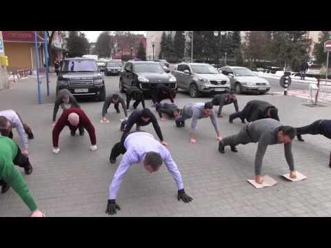 22 pushup challenge. Могилів-Подільський
