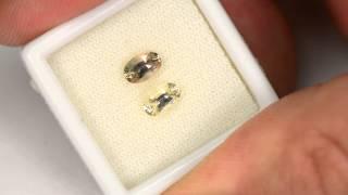 .80ct Sunstone pair