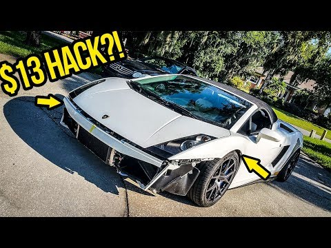 I Fixed My Cheap Lamborghini's $20,000+ Lift System With An AWESOME $13 HACK!