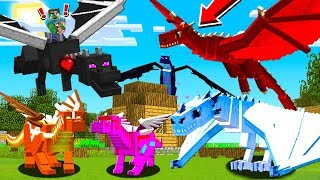 TRAINING THE STRONGEST MINECRAFT DRAGON ARMY!