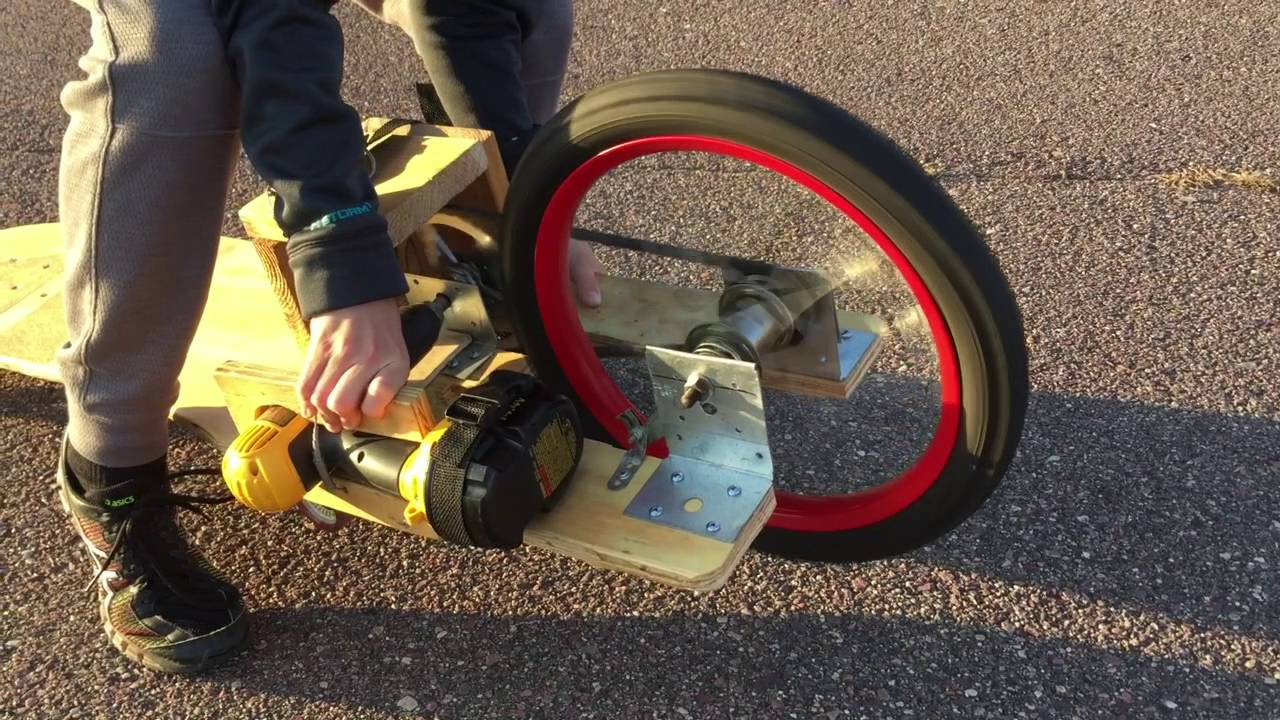 Image result for electric skateboard with drill